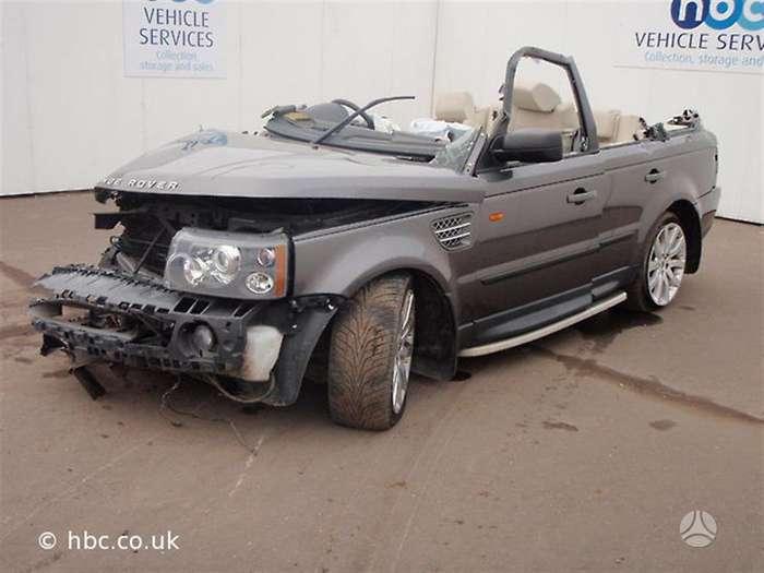 Land Rover Range Rover Sport dalimis. 4.2 benzinas dalimis is