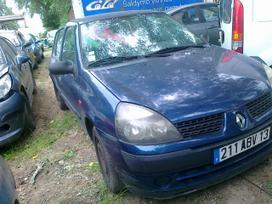 Renault Clio dalimis. Variklis 1.2 16