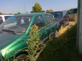Renault Clio dalimis. Iš prancūzijos. esant