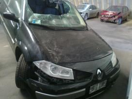 Renault Megane dalimis. Turime ivairiu