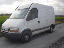 Renault Master 2,2 dci, krovininiai mikroautobusai