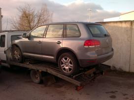 Volkswagen Touareg dalimis. Europinis rida
