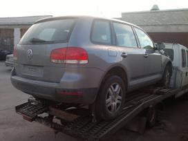 Volkswagen Touareg dalimis. Kodai varikliu