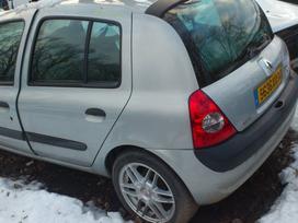 Renault Clio dalimis. Variklio tipas k4m 744