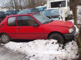 Peugeot 205 dalimis. Iš prancūzijos. esant