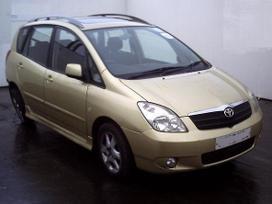 Toyota Corolla Verso. Dalimis