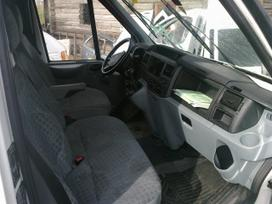 Ford Transit dalimis. Placiausias naudotu