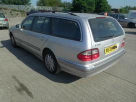 Mercedes-benz E280. Maza rida, odinis salonas
