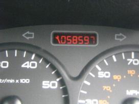 Peugeot 206 dalimis. Turime ivairiu