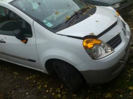 Renault Modus dalimis. Starteris iš galo. iš