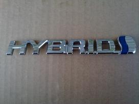 Toyota Prius+ sparnai, žibintai