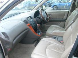 Lexus Rx 300. Odinis salonas, navigacija,