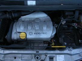 Opel Zafira. Dar yra 1,8 apd 2,2iapd  1,6