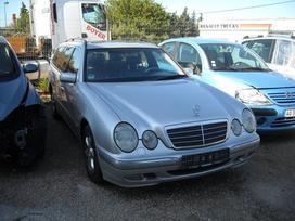 Mercedes-benz E320 dalimis. Odinis salonas.