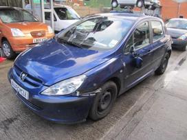 Peugeot 307 dalimis. Musu internetinis