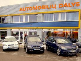 Opel Zafira 2.0 l. vienatūris