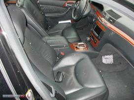 Mercedes-benz S430 dalimis. Mercedes s430,