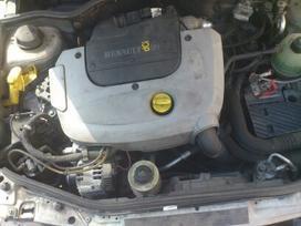 Renault Megane dalimis. Iš prancūzijos. esant