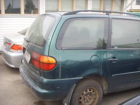 Volkswagen Sharan. Turime daugiau saran