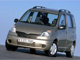 Toyota Yaris Verso. Naudotu ir nauju