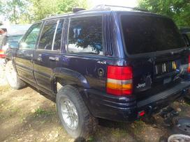 Jeep Cherokee dalimis. Esant galimybei