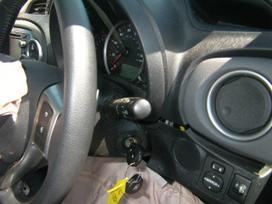 Toyota Yaris dalimis. Angliskas automobilis