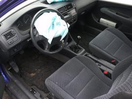 Honda Civic dalimis. Dalimis darbo laikas