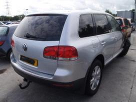 Volkswagen Touareg dalimis. Pristatymas