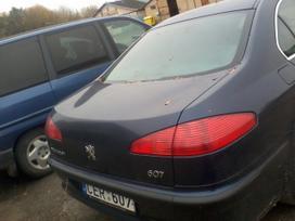 Peugeot 607 dalimis. Turime ivairiu