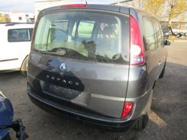 Renault Espace dalimis. Iš vokietijos