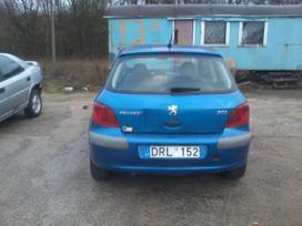 Peugeot 307 dalimis. Turime ivairiu
