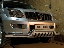 Toyota Land Cruiser. Galinio buferio apdailos