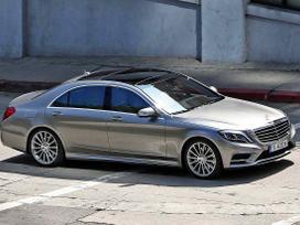 Mercedes-benz S klasė. Naujų originalių