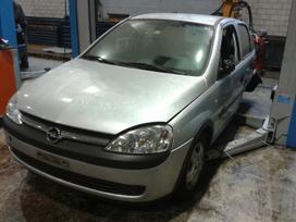 Opel Corsa dalimis.  europa is