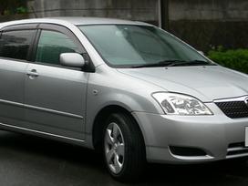 Toyota Corolla. Naudotu ir nauju japonisku