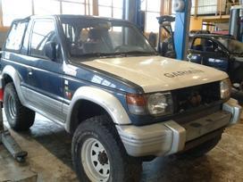 Mitsubishi Pajero.  europa is
