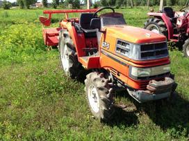 -Kita- Japoniški mini traktoriai traktoriai