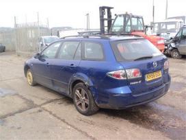 Mazda 6 dalimis. 6 pavaros rida 85000 mylios