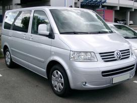 Volkswagen Multivan. Priekiniai sparnai