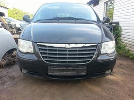 Chrysler Grand Voyager. Amerikietiškų