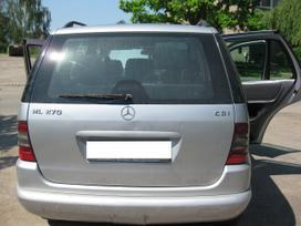 Mercedes-benz Ml270 dalimis. Superkame