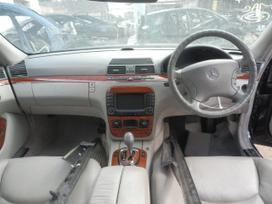 Mercedes-benz S klasė. Specializuota mercedes