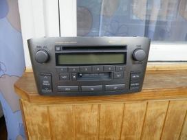 -Kita- Toyota Avensis, CD grotuvai