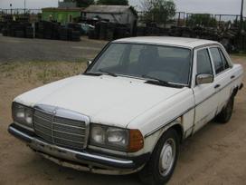 Mercedes-benz 123. Variklis ir gr.deze dirba