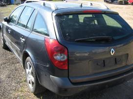 Renault Laguna. Variklis ardomas dalimis. yra