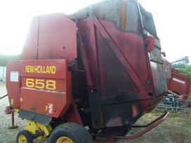New Holland 658, rulonų vyniotuvai / presai