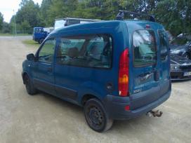 Renault Kangoo dalimis. Europa galimas