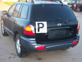 Hyundai Santa Fe dalimis. Europa 4x4