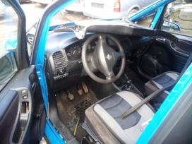 Opel Zafira dalimis. Opel dalys.