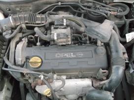 Opel Astra dalimis. Opel astra 01m. 1.7 55kw,